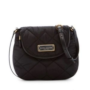 Marc Jacobs Bags - NWT Black Marc Jacobs Quilted Nylon Crossbody Bag